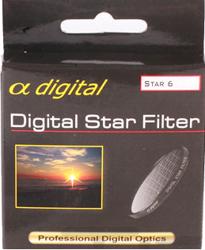 King Filtr gwiazdkowy x6 Alpha Digital 67mm