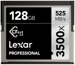 Lexar CF 128GB x3500 Professional