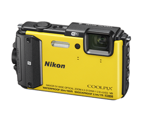 Nikon Coolpix AW130 żółty