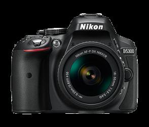 Nikon D5300 + AF-P DX 18-55 mm VR
