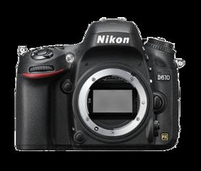 Nikon D610 body