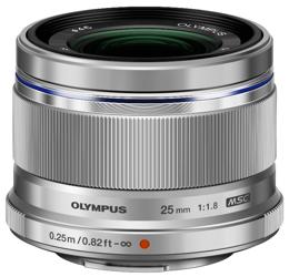 Olympus M.ZUIKO DIGITAL 25mm f/1.8 srebrny + Hoya UV Fusion Antistatic + CashBack 200zł