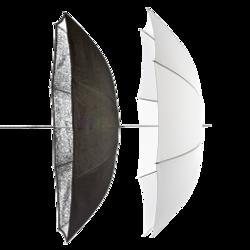 Parasolki Elinchrom ECO 85 cm transparenta i srebrna
