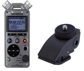 Rejestrator dźwięku Olympus LS-12 + CL-2