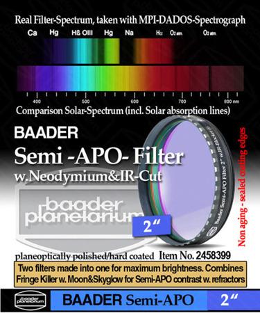 "Baader Planetarium filtr Semi APO 2"""