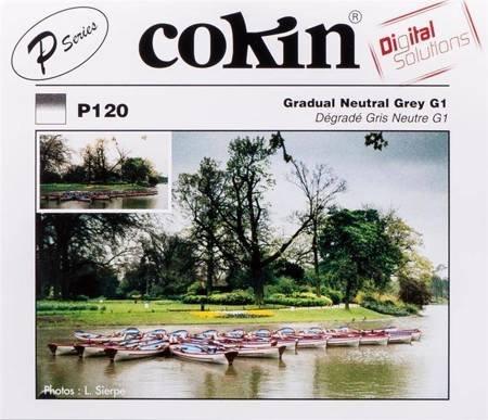 COKIN P120 połówkowy szary ND3,3