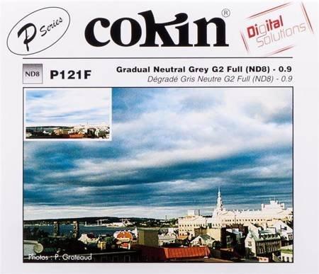 COKIN P121F szary ND8 z miękkim przejściem koloru