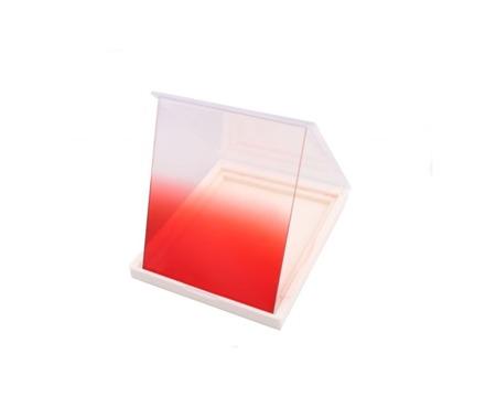 Delta połówkowy czerwony typu Cokin P 665 - gradual