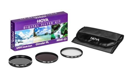 Hoya zestaw UV HMC (C), PL-CIR ,NDX8 67mm