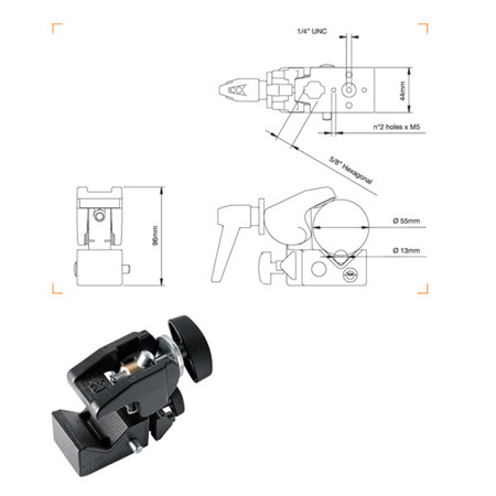Manfrotto ML635 Super clamp