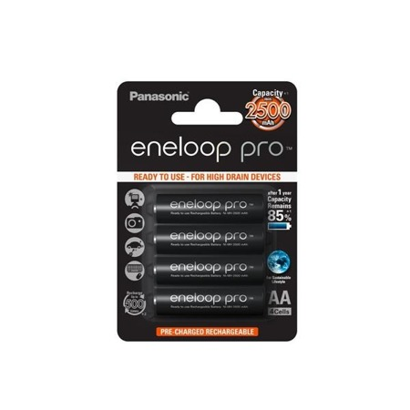 Panasonic ENELOOP PRO R6/AA 2450mAh 4szt