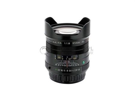Pentax FA 31 mm f/1.8 Limited Edition czarny