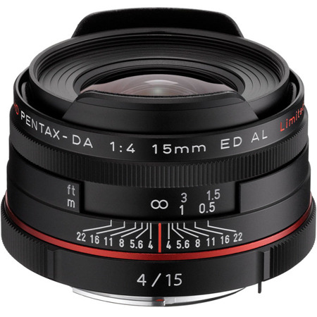Pentax HD DA 15mm F4 ED AL Limited Czarny