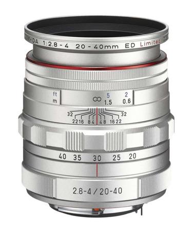 Pentax HD DA 20-40mm F2.8-4 ED Limited DC WR Silver