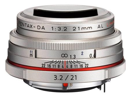 Pentax HD DA 21 mm f/3.2 AL Limited srebrny