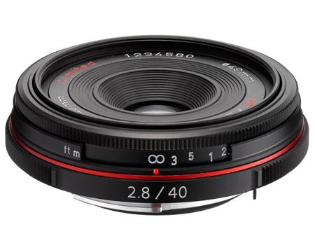 Pentax HD DA 40 mm f/2,8 Limited czarny