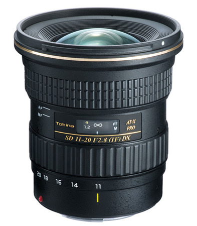 Tokina 11-20 mm AT-X PRO DX F2.8 do Canon